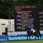 Hickstead 2014 2nd place main ring